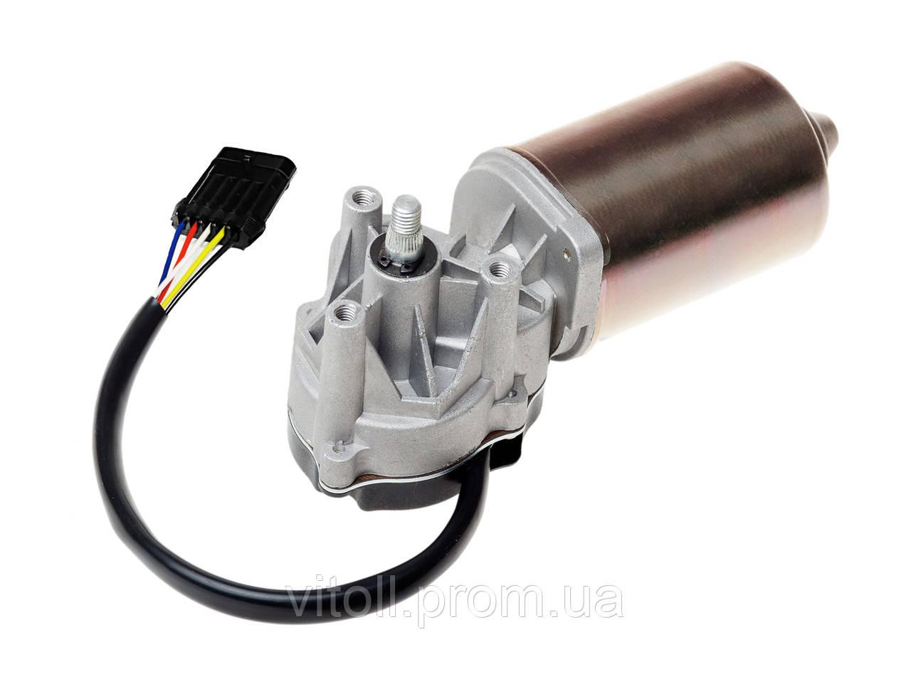 Мотор стеклоочистителя передний Ваз 2110, 2111, 2112 (мотор дворников) Калуга