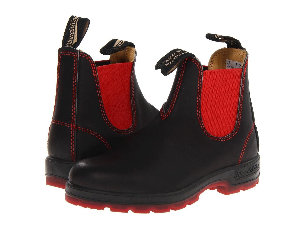 Ботинки/Сапоги (Оригинал) Blundstone BL1316 Black/Red