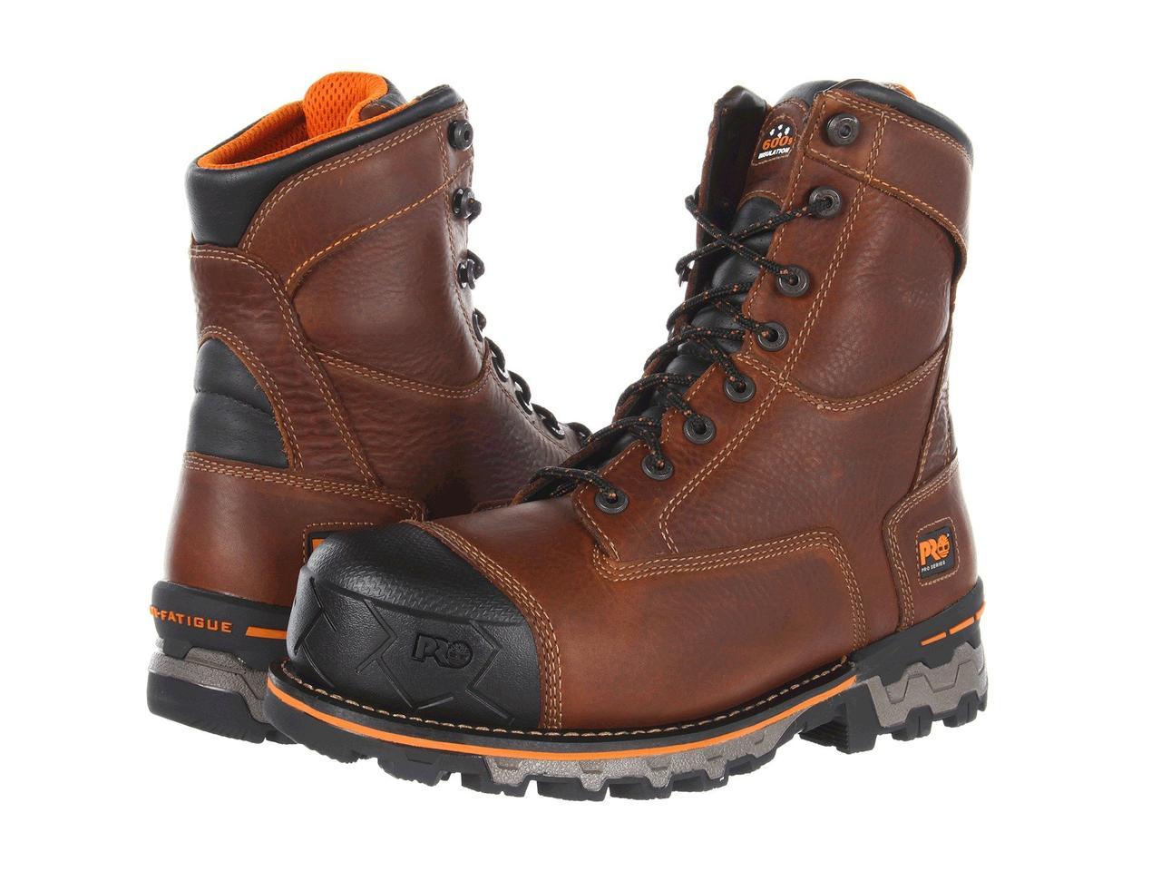 Ботинки/Сапоги (Оригинал) Timberland PRO Boondock WP Insulated Soft Toe Brown
