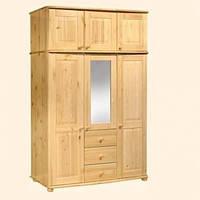 """Шкаф для одежды трехстворчастый с антресолью """"Шато-2"""""""