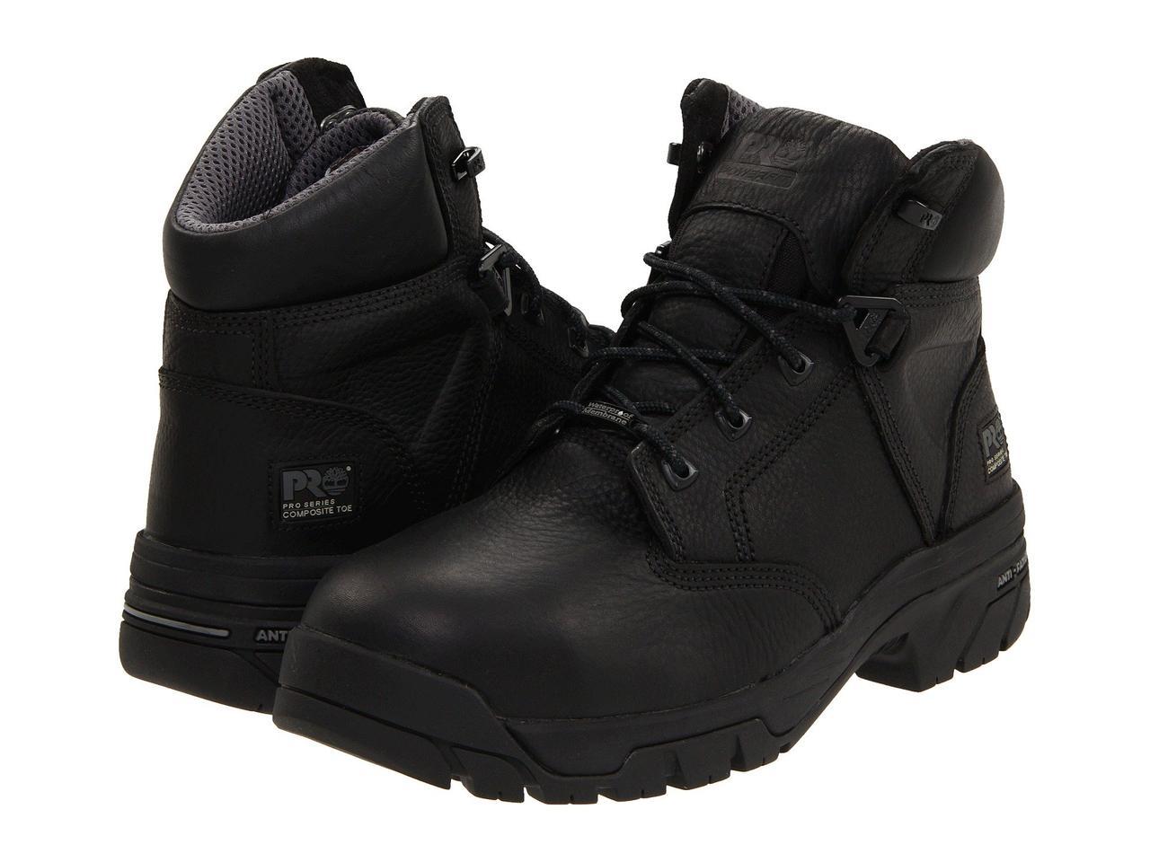 "Ботинки/Сапоги (Оригинал) Timberland PRO Helix 6"" Waterproof Composite Toe Black"