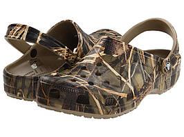 Сабо (Оригинал) Crocs Classic Realtree® V2 Khaki