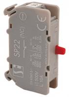 Контакт 4.размыкающий для монтажа на дин-рейку Spamel SP2201-4-SZ