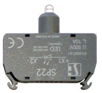 LED универсальный для монтажа на дин-рейку Зеленый Spamel SP22-1408P12