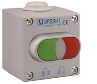 Пост управления 1-местный с приводом 2KLZ  C I 2 сальник M20 Spamel SP22K121-2