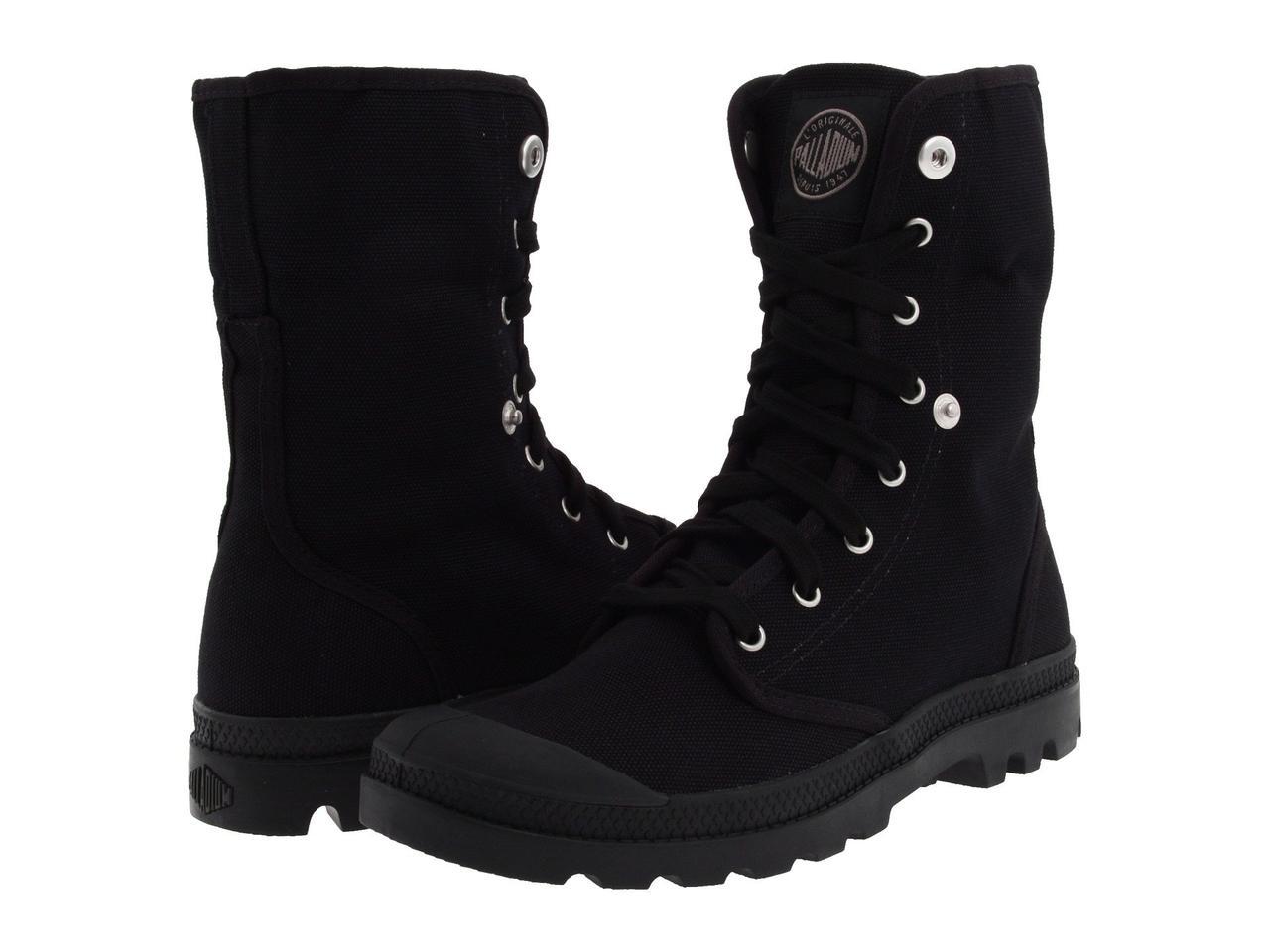 Ботинки Сапоги (Оригинал) Palladium Baggy Black Black - TopUSA