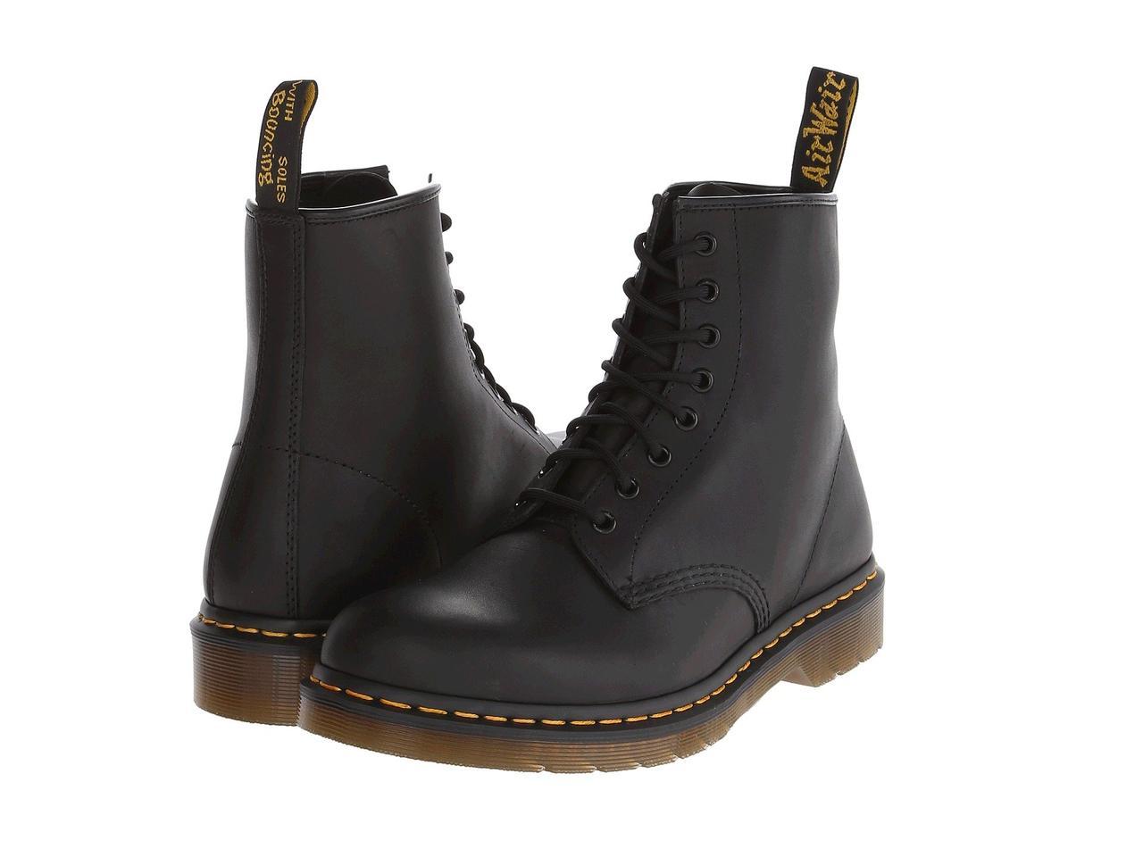 Ботинки Сапоги (Оригинал) Dr. Martens 1460 Black Greasy - TopUSA