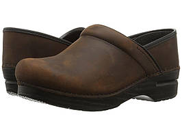 Сабо (Оригинал) Dansko Professional Antique Brown Oiled Leather