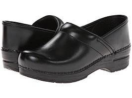 Сабо (Оригинал) Dansko Professional Black Cabrio Leather