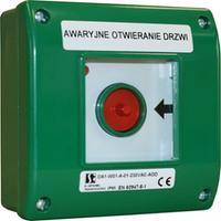 OA1-Аварийный пост управления, внешний, атомат. 2 NONE Spamel OA1-W01-A20