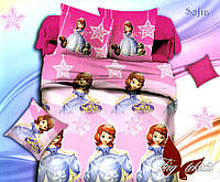 Полуторный комплект детского постельного белья ранфорс Sofia TM TAG