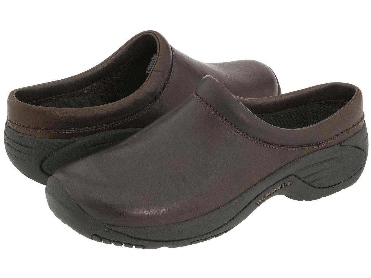 Сабо (Оригинал) Merrell Encore Gust Smooth Bug Brown Leather
