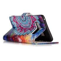 Половина Цветы Лаки Рельеф Pu Телефон Чехол для Samsung Galaxy Note 8 Цветной, фото 3