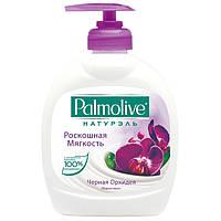 Жидкое мыло Palmolive 300мл дозатор Черная Орхидея 1/12