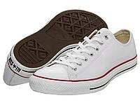b82707b51ff3 Кроссовки Кеды (Оригинал) Converse Chuck Taylor® All Star® Leather Ox White