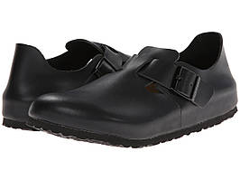 Мокасины (Оригинал) Birkenstock London Soft Footbed Hunter Black Leather