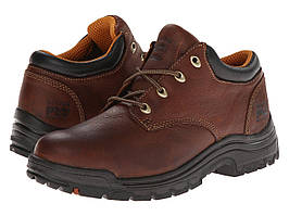 Кроссовки/Кеды (Оригинал) Timberland PRO TiTAN® Oxford Soft Toe Haystack Brown Oiled Full-Grain Leather