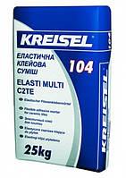 Смесь клеевая для плитки для внутренних и наружных работ эластичная Elasti Multi 104 25,0кг Kreisel 1/42