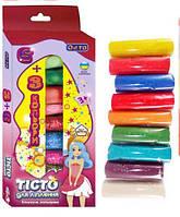 Набір для ліплення Асорті 9 кольорів з блискітками