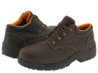 Туфли (Оригинал) Timberland PRO TiTAN® Alloy Safety Toe Oxford Haystack Brown Oiled Full-Grain Leather, фото 1