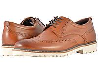 Туфли (Оригинал) Rockport Marshall Wingtip Cognac Leather, фото 1