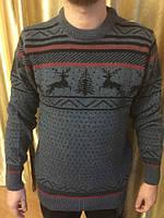 Новинка сезона. Мужской свитер с оленями
