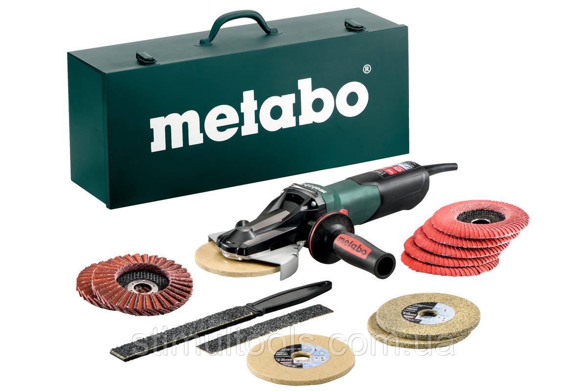 Угловая шлифмашина (болгарка) Metabo WEVF 10-125 Quick Inox