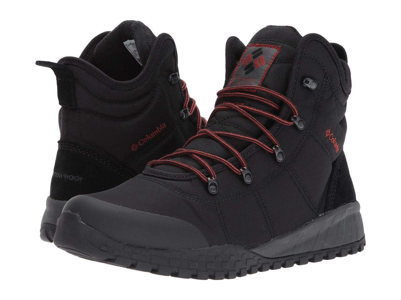 Ботинки Сапоги (Оригинал) Columbia Fairbanks Omni-Heat Black Rusty - TopUSA 9b9bd5b960a