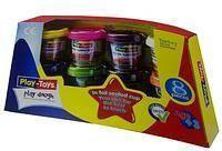 Игровой набор для лепки Play Toys РТ 42287 8 цветов, тесто для лепки