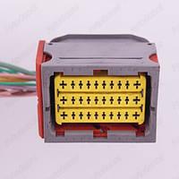 Разъем электрический 30-и контактный (49-38) б/у