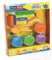 Масса для лепки Play Toys Fun Set (4 цвета) (тесто)