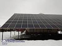 Мережева сонячна електростанція 30 кВт м. Буськ