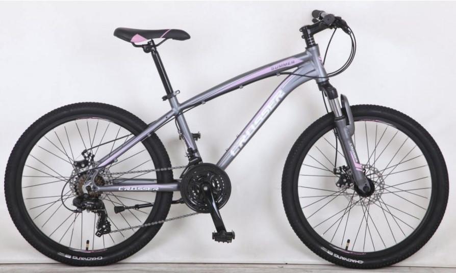 """Горный  велосипед CROSSER SUMMER 26"""", 16,5""""  Серый"""