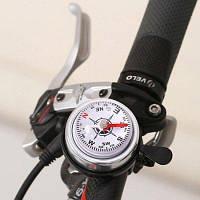 Мини-звонок компас на руль велосипеда Чёрный