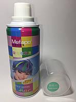 Цветной спрей для волос Mefapo. Цвет мятный