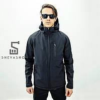 Демисезонная мужская куртка F&F Denver, черная, фото 1