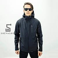 Демисезонная мужская куртка Denver от Feel and Fly, черная