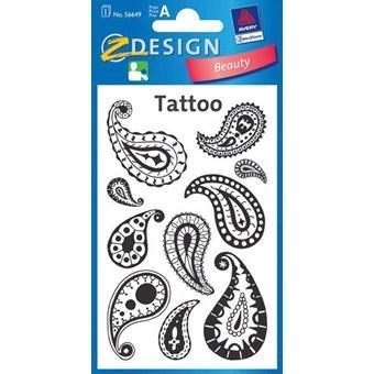 Татуировки с капельными узорами