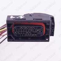 Разъем электрический 21-о контактный (64-37) б/у 1379112