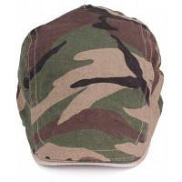 Мужской Модный хлопок берет шляпу с Камуфляжным узором Зеленый армейский