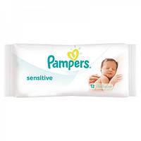 Влажные салфетки Pampers Sensitive 12 шт