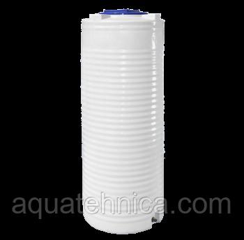 Ёмкость вертикальная узкая 500 литров однослойная 68 х 164 см Ротоевропласт