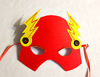 Карнавальная маска Супергерои Флэш Человек -Молния. Игры с детьми.