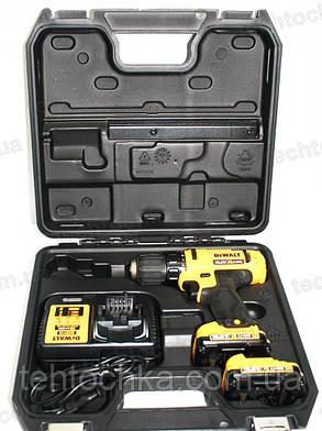 Аккумуляторный Шуруповёрт DeWALT DCD 710D2, фото 2