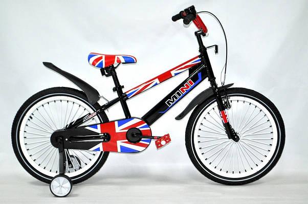 """Детский велосипед ARDIS MINI  20""""  Черный"""