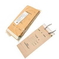 Крафт пакеты для стерилизации 75х150 Медтест для мелких инструментов, для паровой, воздушной, этилен. 100 шт