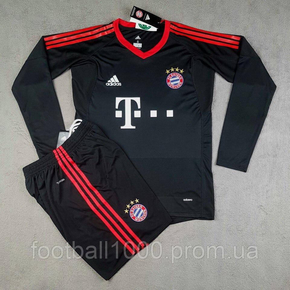 2c7dac929f4e Футбольная форма вратаря Adidas FC Bayern München 2017-18 - ГООООЛ›  спортивная и футбольная