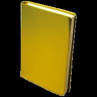 Ежедневник датированный 2018 METALLIC, A5, желтый