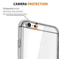 Ультратонкий амортизационный бампер TPU Clear Case для iPhone 6 Plus / 6S Plus Прозрачный