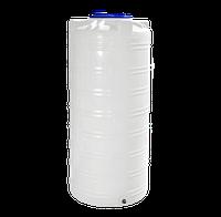 Ёмкость вертикальная 750 литров однослойная 79  х 170 см Ротоевропласт